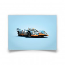 COLOURS OF SPEED - GULF 917