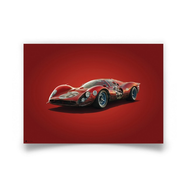 COLOURS OF SPEED - FERRARI 412P