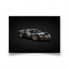 COLOURS OF SPEED - FORD GT40 BLACK