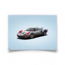 COLOURS OF SPEED - FORD GT40 BLUE
