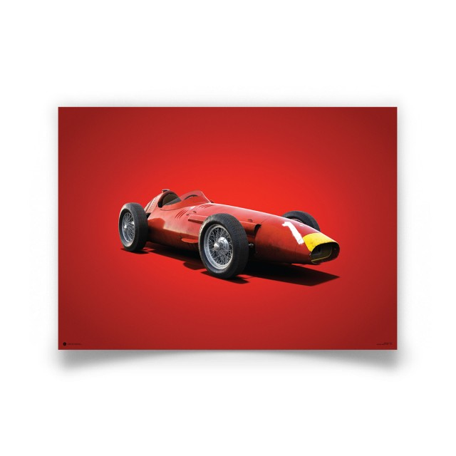 COLOURS OF SPEED - MASERATI 250F