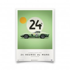 """FERRARI 250 GTO """"LE MANS"""" GREEN 1962"""