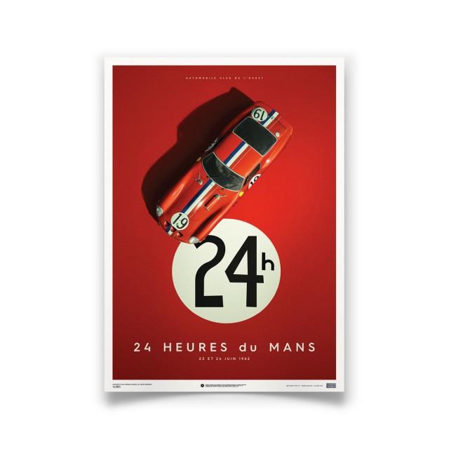 "FERRARI 250 GTO ""LE MANS"" RED 1962"