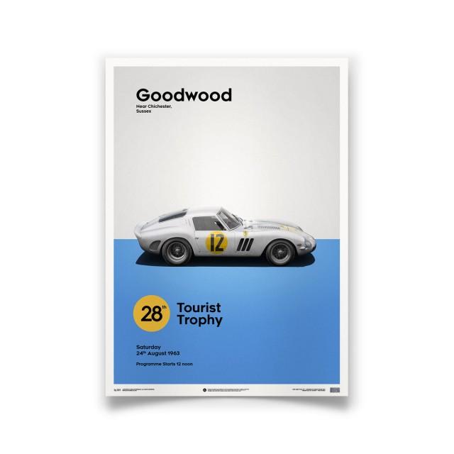 FERRARI 250 GTO - Goodwood 1963 - White