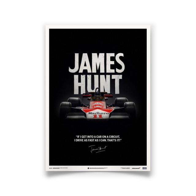 McLaren / James Hunt - Quote